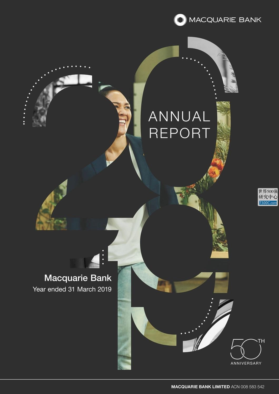 麦格理银行Macquarie_年报AnnualReport_2019_T500C.com
