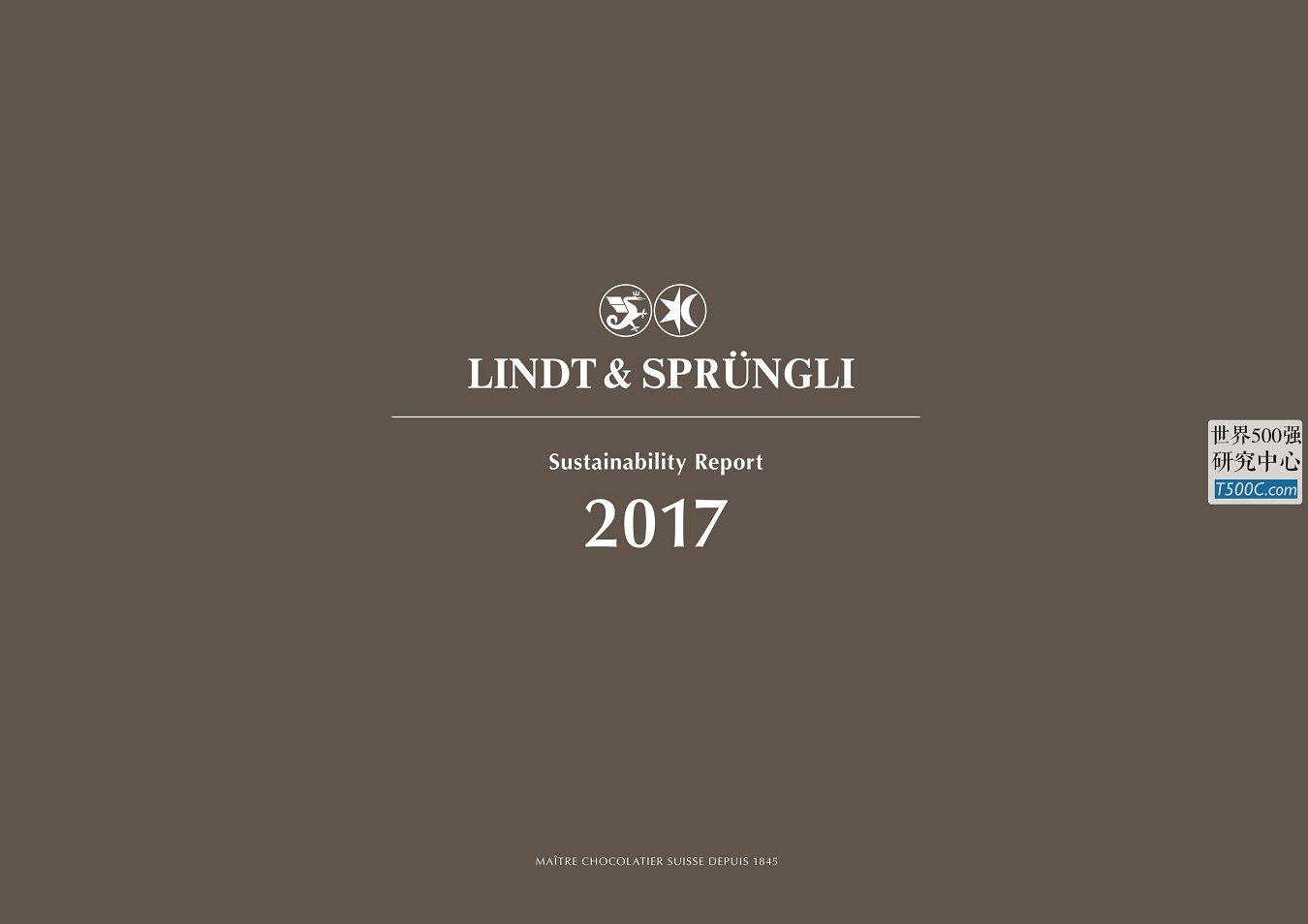 瑞士莲史宾利Lindt&Sprungli_可持续发展报告Sustainability_2017