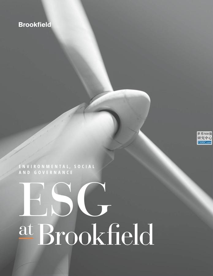 布鲁克菲尔德资产Brookfield_社会责任报告CSR_2019_T500C.com