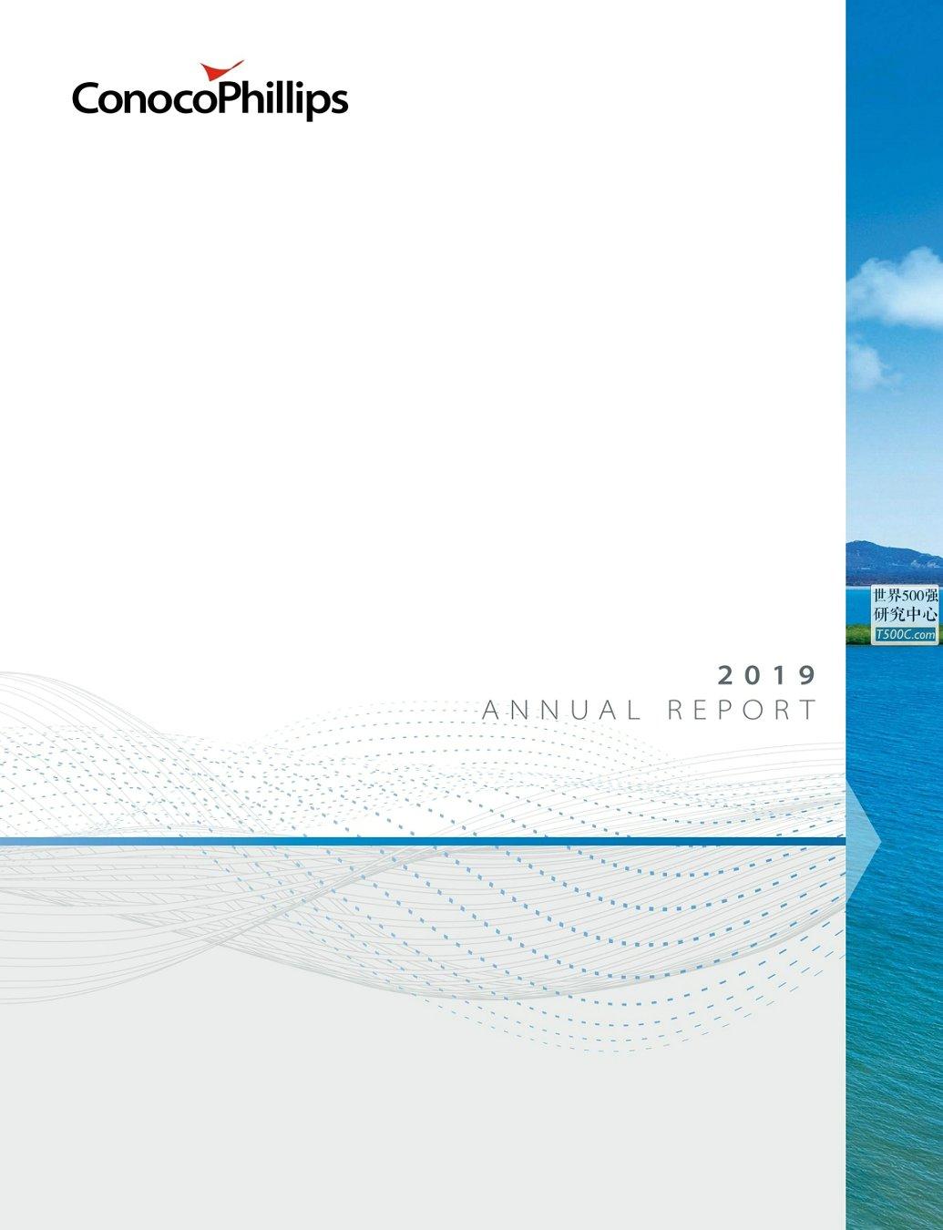 康菲石油ConocoPhillips_年报AnnualReport_2019_T500C.com