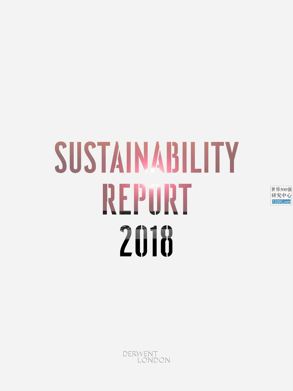 德温特Derwent_可持续发展报告Sustainability_2018