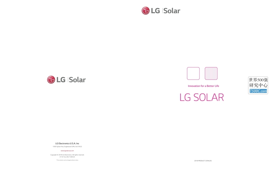 韩国LG公司_产品宣传册Brochure_T500C.com_SOLAR