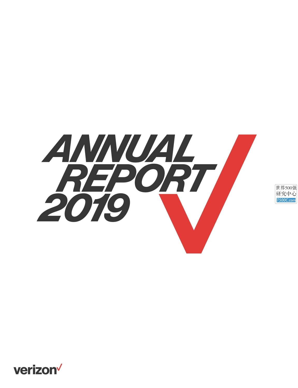 威瑞森电信Verizon_年报AnnualReport_2019_T500C.com