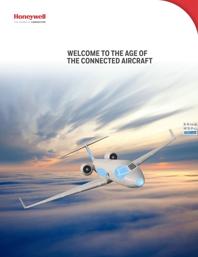 霍尼韦尔Honeywell_产品宣传册Brochure_T500C.com_Connected Aircraft