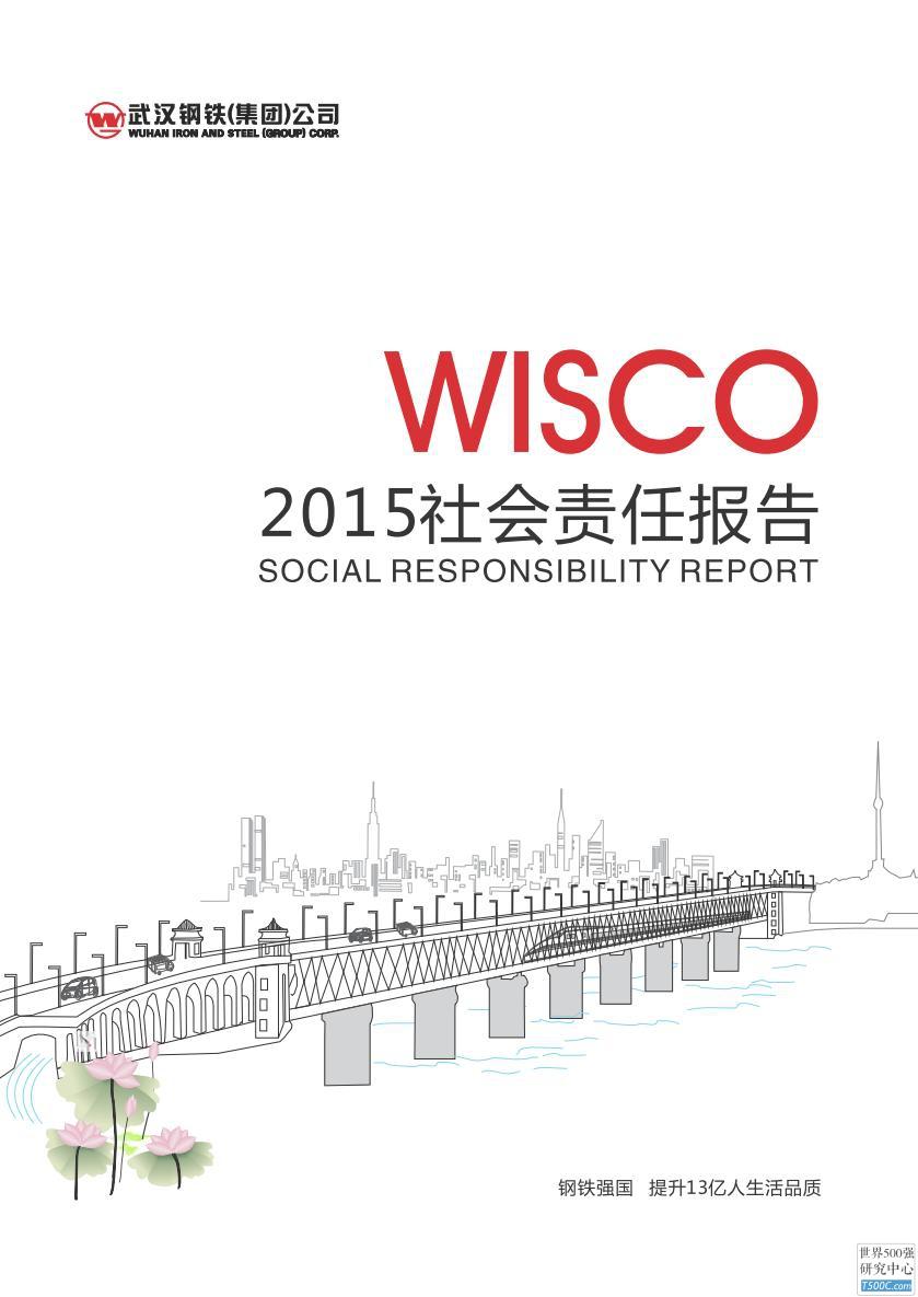 武汉钢铁集团2015年社会责任报告