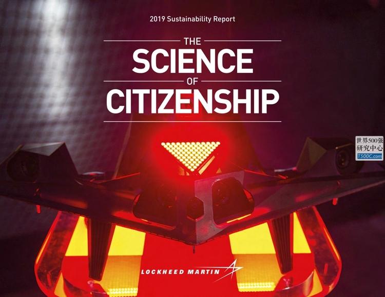 洛克希德马丁LockheedMartin_可持续发展报告Sustainability_2019_T500C.com