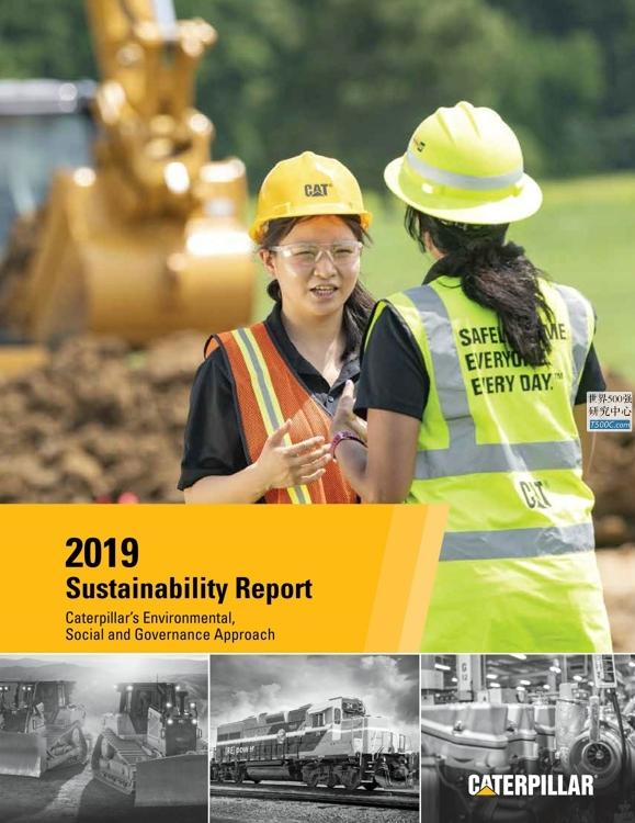卡特彼勒Caterpillar_可持续发展报告Sustainability_2019_T500C.com