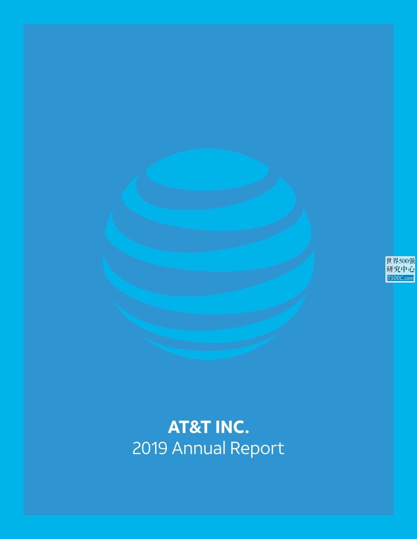美国电话电报AT&T_年报AnnualReport_2019_T500C.com