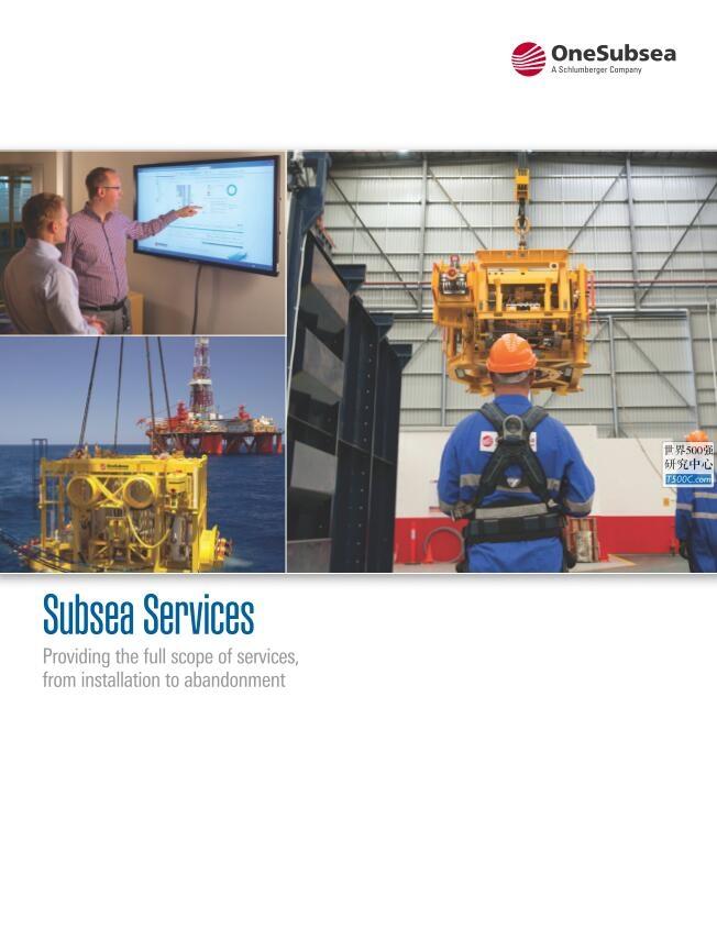 斯伦贝谢Schlumberger_业务宣传册Brochure_T500C.com_oss-subsea-service.pdf