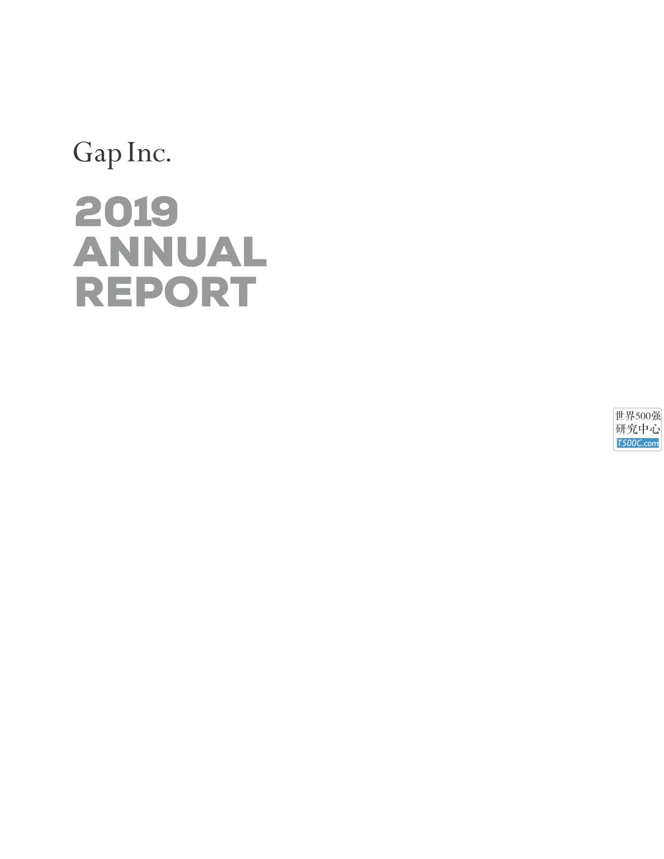 盖普GAP_年报AnnualReport_2019_T500C.com