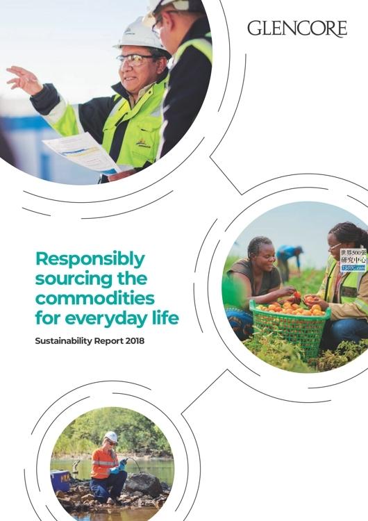 嘉能可Glencore_可持续发展报告Sustainability_2018_T500C.com