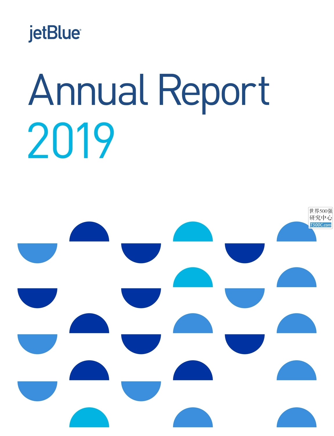 捷蓝航空JetBlueAirways_年报AnnualReport_2019_T500C.com