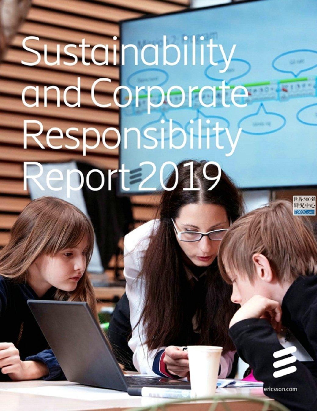 爱立信Ericsson_可持续发展报告Sustainability_2019_T500C.com
