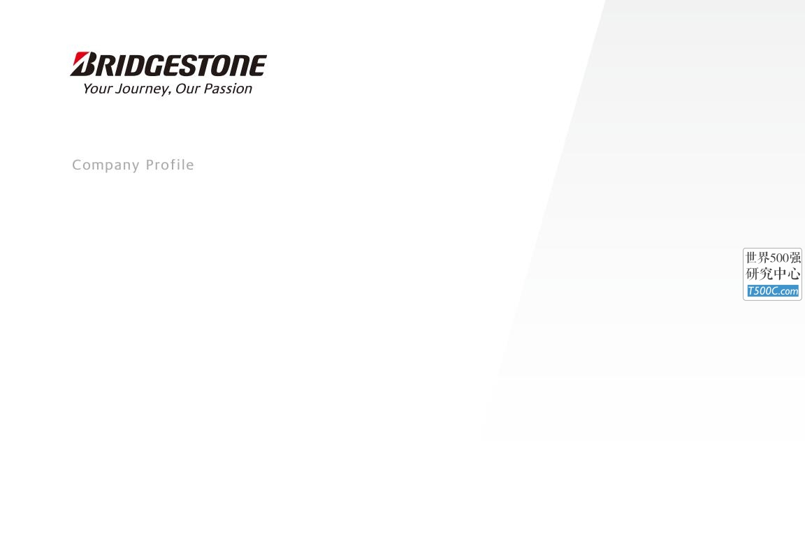 普利司通Bridgestone_公司宣传册Brochure_T500C.com_Corporate profile.pdf