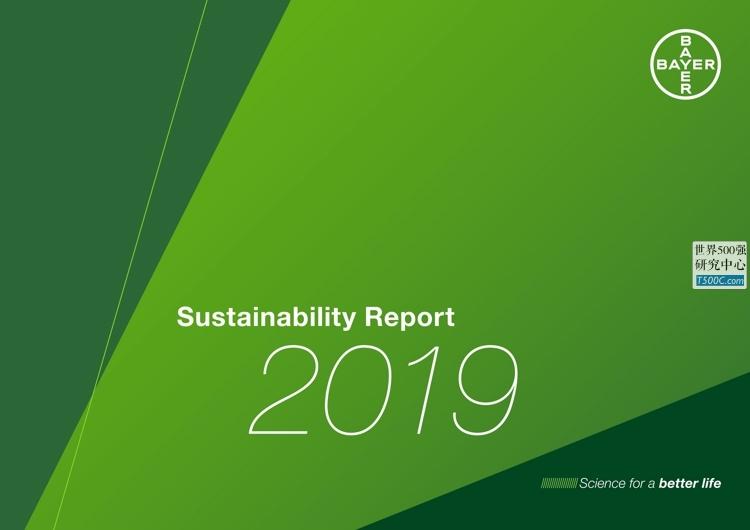拜耳医药Bayer_可持续发展报告Sustainability_2019_T500C.com