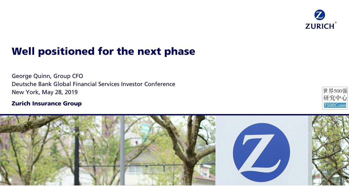 苏黎世保险Zurich_PPT样式_2019_T500C.com_Global Financial Services Conference.pdf
