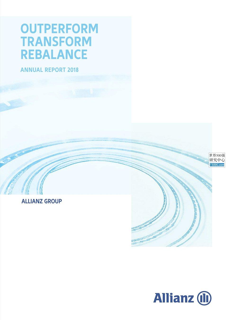 安联保险Allianz_年报AnnualReport_2018
