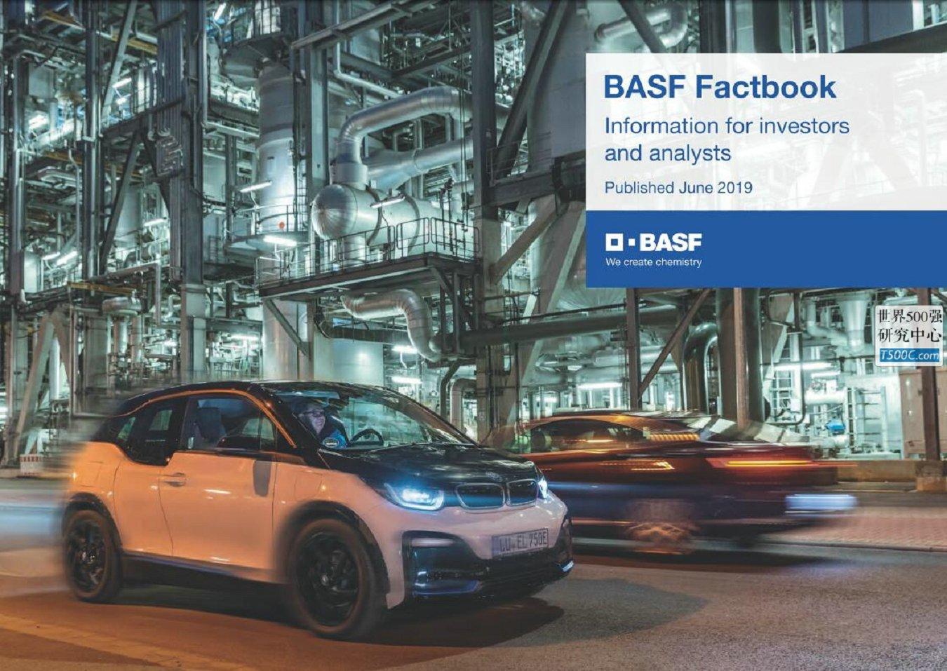 巴斯夫BASF_年度数据Factbook_2019