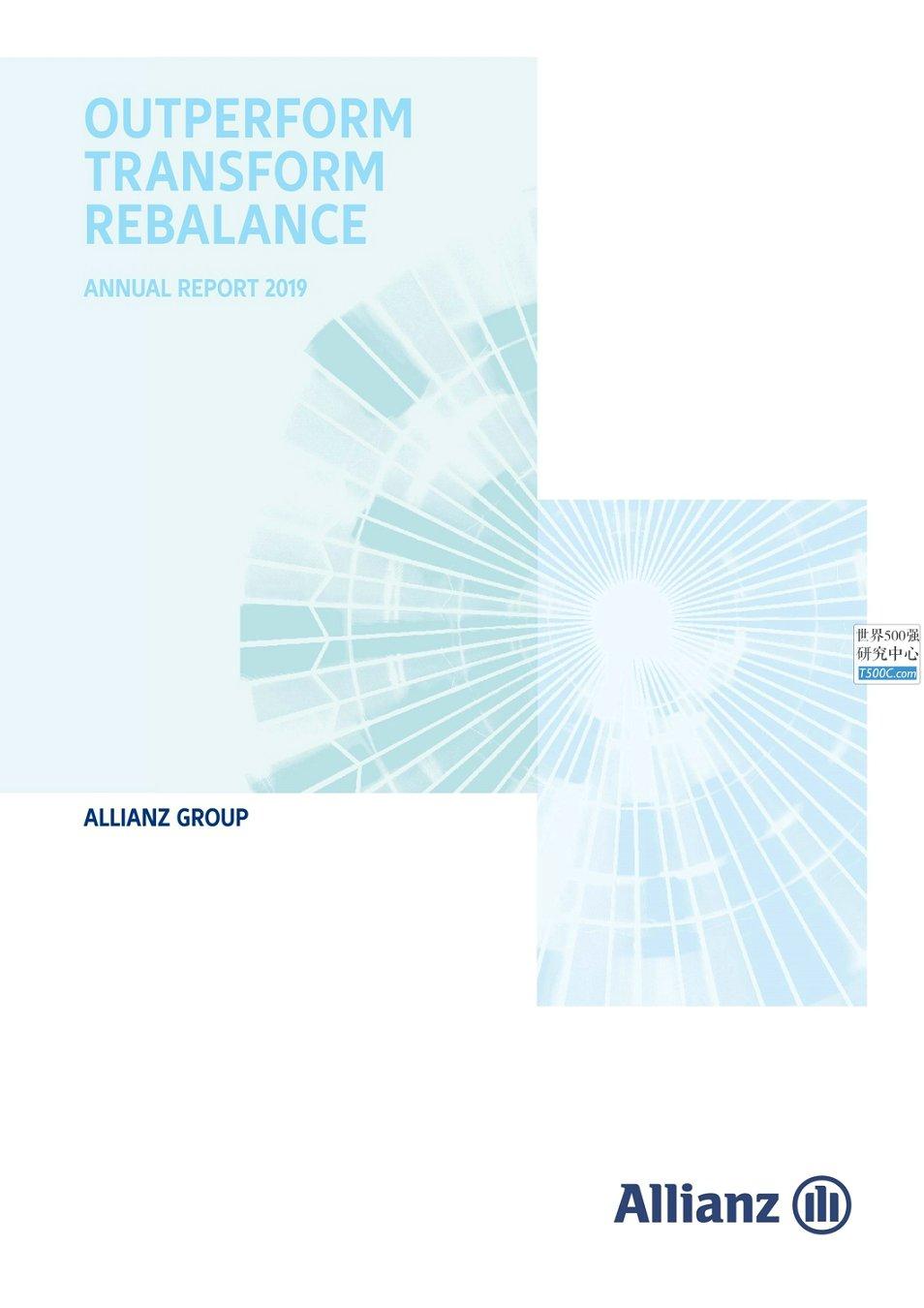 安联保险集团Allianz_年报AnnualReport_2019_T500C.com