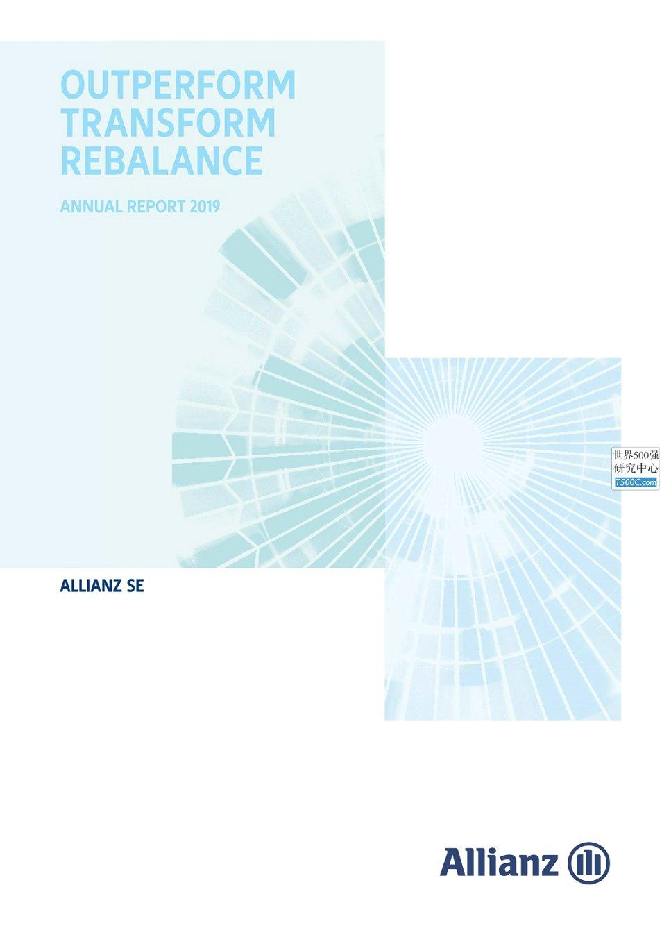 安联保险股份Allianz_年报AnnualReport_2019_T500C.com