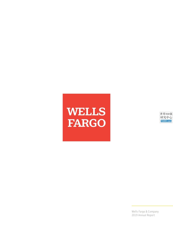 富国银行WellsFargo_年报AnnualReport_2019_T500C.com