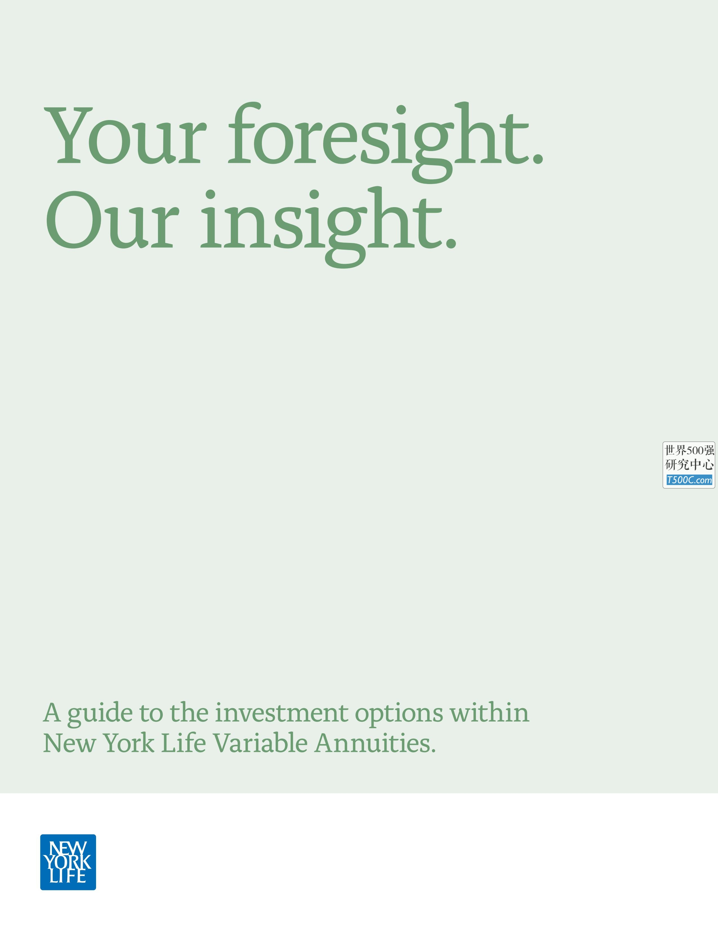 纽约人寿NewYorkLife_见解宣传册Brochure_T500C.com_Investment-Brochure.pdf