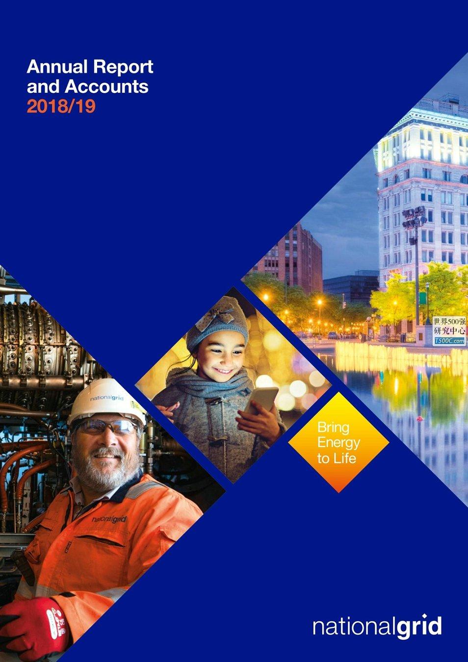 英国国家电网NationalGrid_年报AnnualReport_2019_T500C.com